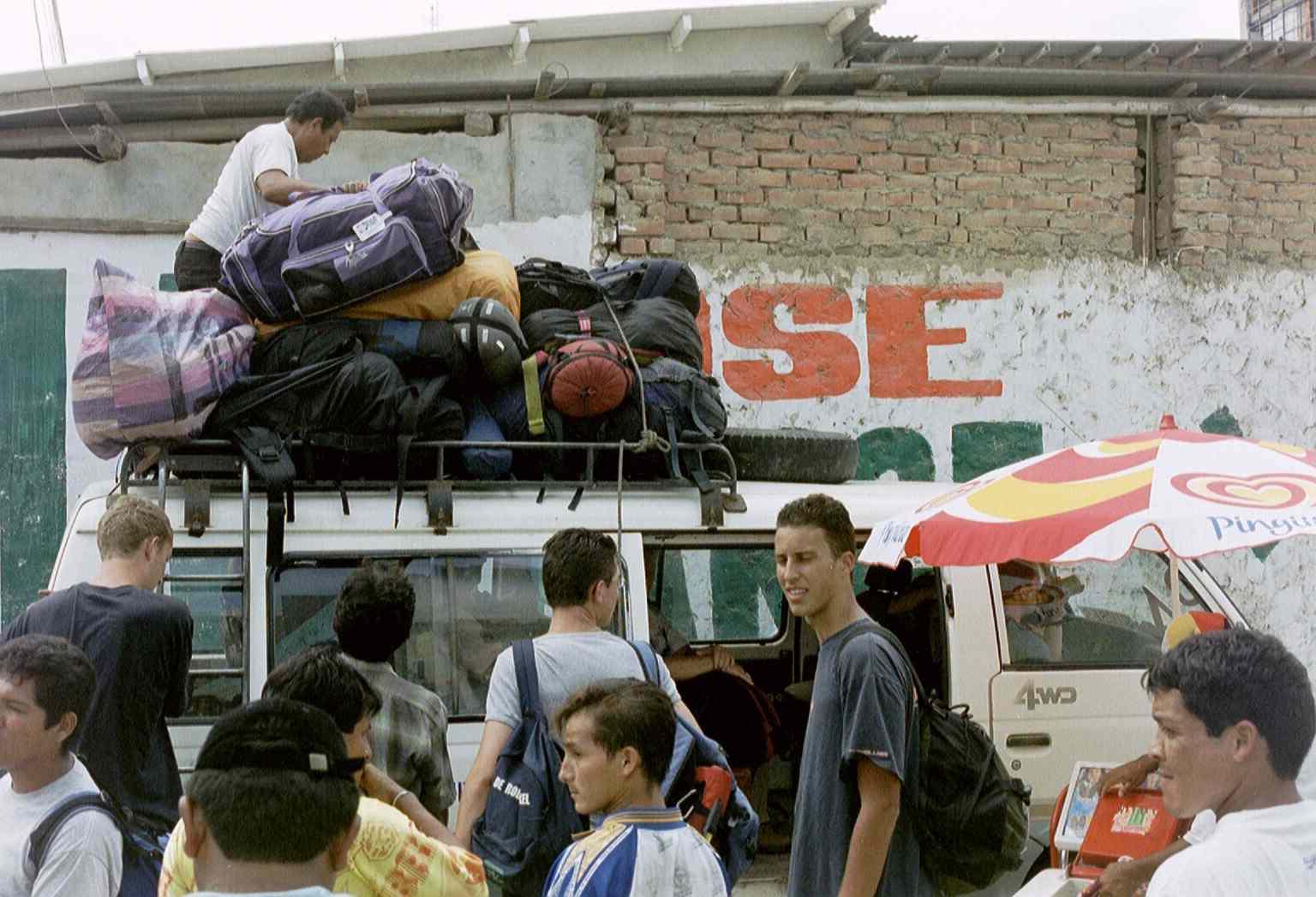 grens Ecuador - Peru